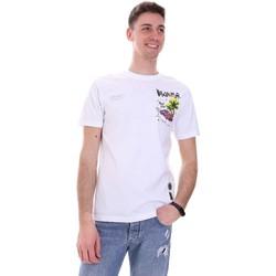 Oblačila Moški Majice s kratkimi rokavi Disclaimer 21EDS50522 Biely