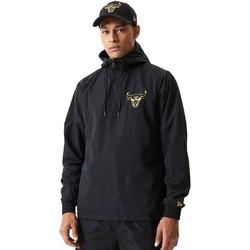 Oblačila Moški Puloverji New-Era 12590863 Črna