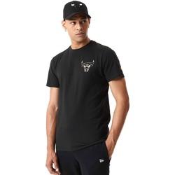 Oblačila Moški Majice s kratkimi rokavi New-Era 12590868 Črna