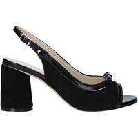 Čevlji  Ženske Sandali & Odprti čevlji Melluso HS548 Črna