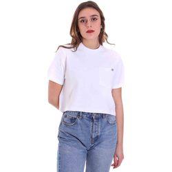 Oblačila Ženske Majice s kratkimi rokavi Dickies DK0A4XDEWHX1 Biely