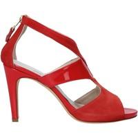 Čevlji  Ženske Sandali & Odprti čevlji Melluso HS852 Rdeča