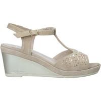 Čevlji  Ženske Sandali & Odprti čevlji Melluso HR70511 Bež