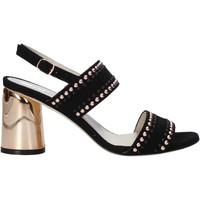 Čevlji  Ženske Sandali & Odprti čevlji Melluso HS553 Črna
