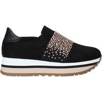Čevlji  Ženske Slips on Grace Shoes GLAM007 Črna