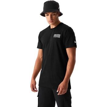 Oblačila Moški Majice & Polo majice New-Era 12590875 Črna