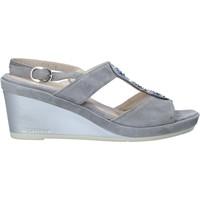 Čevlji  Ženske Sandali & Odprti čevlji Melluso HR70513 Siva