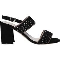 Čevlji  Ženske Sandali & Odprti čevlji Melluso HS533 Črna