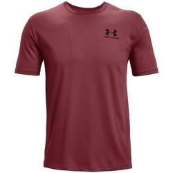 Oblačila Moški Majice s kratkimi rokavi Under Armour Sportstyle LC Bordo rdeča