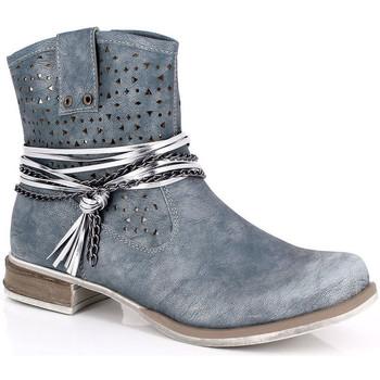 Čevlji  Ženske Gležnjarji Kimberfeel MARGOT Bleu