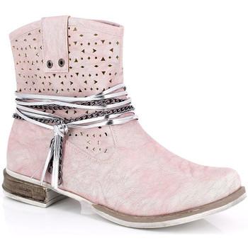 Čevlji  Ženske Gležnjarji Kimberfeel MARGOT Rose