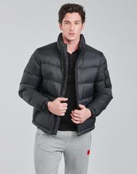 Oblačila Moški Puhovke HUGO BIRON Črna