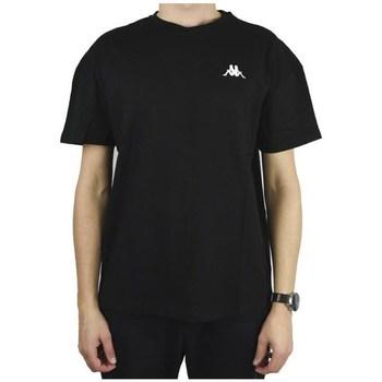 Oblačila Moški Majice s kratkimi rokavi Kappa Veer Tshirt Črna