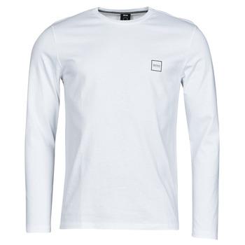 Oblačila Moški Majice z dolgimi rokavi BOSS TACKS Bela