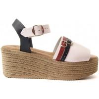Čevlji  Ženske Sandali & Odprti čevlji Purapiel 70213 WHITE