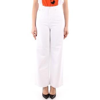 Oblačila Ženske Lahkotne hlače & Harem hlače Roy Rogers P21RND091P3211755 WHITE