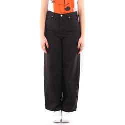 Oblačila Ženske Lahkotne hlače & Harem hlače Roy Rogers P21RND091P3211755 BLACK