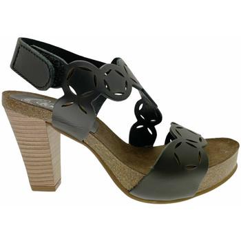 Čevlji  Ženske Sandali & Odprti čevlji Calzaturificio Loren LOJ0846ne nero