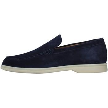 Čevlji  Moški Mokasini Rossano Bisconti 358-02 BLUE