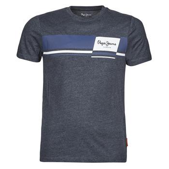 Oblačila Moški Majice s kratkimi rokavi Pepe jeans KADE Modra