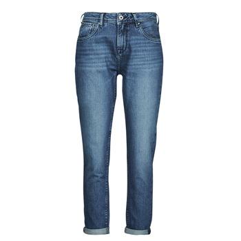 Oblačila Ženske Jeans straight Pepe jeans VIOLET Modra