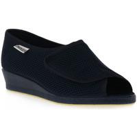Čevlji  Ženske Čevlji Derby Emanuela 342 BLU Blu