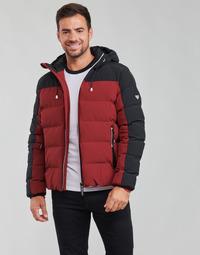 Oblačila Moški Puhovke Emporio Armani EA7 TRAINING CASUAL SPORTY Črna / Rdeča
