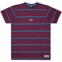 Oblačila Moški Majice s kratkimi rokavi Jacker Rtk stripes Vijolična