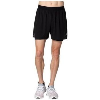 Oblačila Moški Kratke hlače & Bermuda Asics Ventilate 2N1 5IN Črna