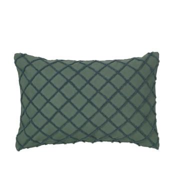 Dom Prevleke za blazine Broste Copenhagen MAGNE Smaragdově zelený