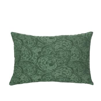 Dom Prevleke za blazine Broste Copenhagen MUSHROOM Zelena / Smaragdově zelený