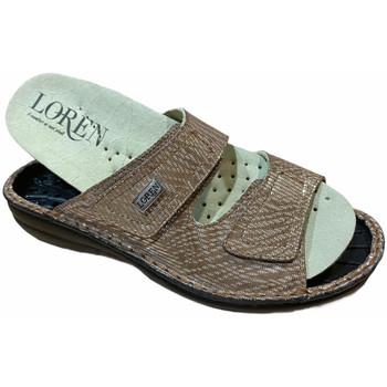 Čevlji  Ženske Natikači Calzaturificio Loren LOM2829scuoio marrone