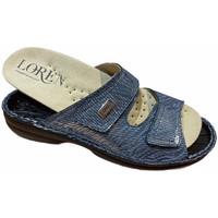 Čevlji  Ženske Natikači Calzaturificio Loren LOM2829sjeans blu