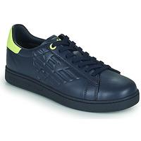 Čevlji  Moški Nizke superge Emporio Armani EA7 CLASSIC NEW CC Modra