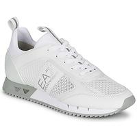 Čevlji  Nizke superge Emporio Armani EA7 BLACK&WHITE LACES Bela