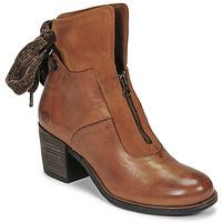 Čevlji  Ženske Gležnjarji Casta PONTA Cognac
