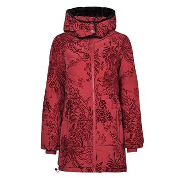 Oblačila Ženske Puhovke Desigual JAPAN Rdeča