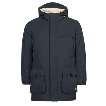 Oblačila Moški Plašči Armor Lux PARKA HERITAGE Modra
