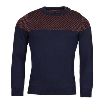 Oblačila Moški Puloverji Armor Lux PULL MARIN REVISITE Modra