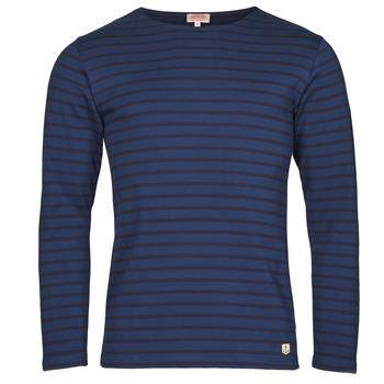 Oblačila Moški Majice z dolgimi rokavi Armor Lux MARINIERE HOUAT HRX Modra