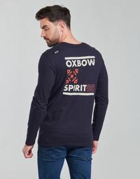 Oblačila Moški Majice z dolgimi rokavi Oxbow N2TORJOK Modra