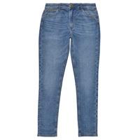 Oblačila Deklice Jeans skinny Pepe jeans PIXLETTE HIGH Modra