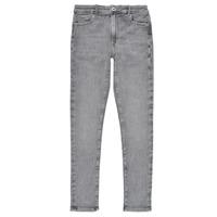 Oblačila Deklice Jeans skinny Pepe jeans PIXLETTE HIGH Siva