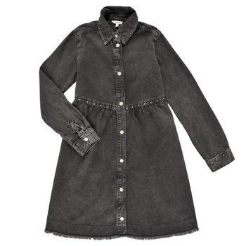 Oblačila Deklice Kratke obleke Pepe jeans FLORIDA DRESS Črna