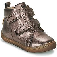 Čevlji  Deklice Visoke superge Bisgaard DEE Srebrna