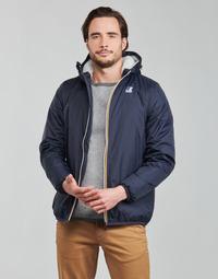 Oblačila Moški Jakne K-Way LE VRAI 3.0 CLAUDE ORSETTO Modra