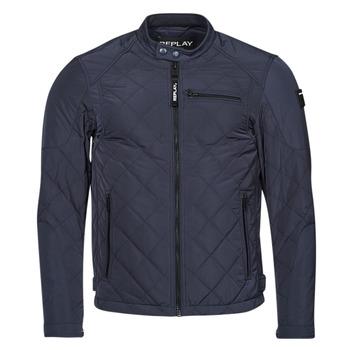 Oblačila Moški Jakne Replay M8000 Modra