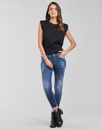 Oblačila Ženske Jeans skinny Replay LUZIEN Modra