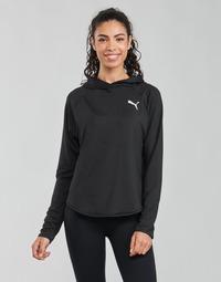 Oblačila Ženske Puloverji Puma ACTIVE HOODIE Črna
