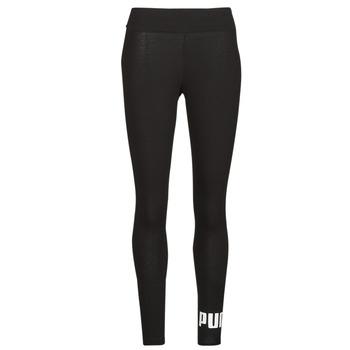 Oblačila Ženske Pajkice Puma ESS LOGO LEGGINGS Črna